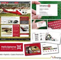 Helicópteros Argentinos. A Graphic Design, and Web Design project by Natalia Delgado Deus         - 10.08.2012