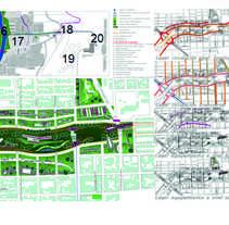 Trabajos universitarios Plan Urbano Tucuman Argentina. Un proyecto de Diseño, Arquitectura, Diseño gráfico y Paisajismo de Laura         - 01.06.2015