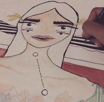 Eyes to See your Soul - Ojos para ver tu Alma. Um projeto de Ilustração, 3D, Animação e Artes plásticas de Kariie Galicia         - 02.06.2015