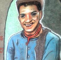 Mario Moreno Cantinflas. A Fine Art project by Andrés López         - 11.10.2014
