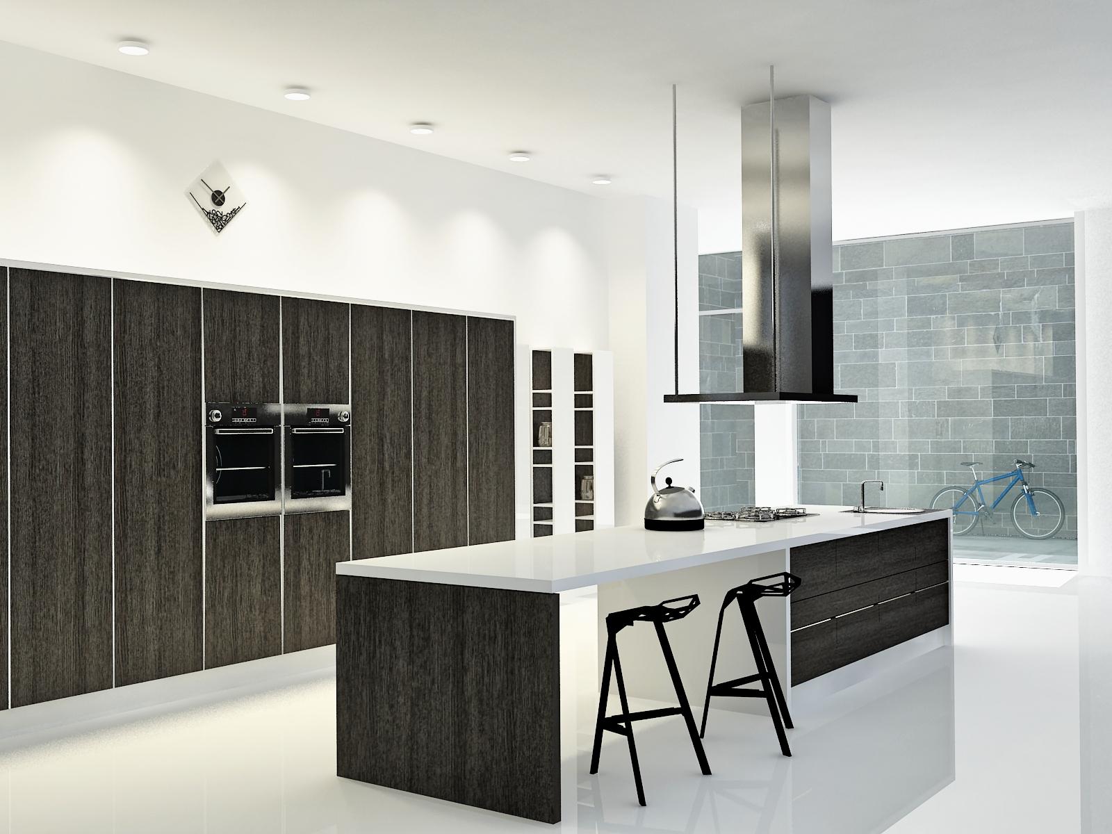 Cocina loft centro de madrid dise o de interiores - Diseno interiores cocinas ...