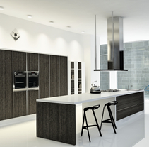 Cocina Loft, Centro de Madrid / Diseño de Interiores. Um projeto de Design, 3D, Arquitetura de interiores e Design de interiores de Belén del Olmo Gil - 01-02-2011
