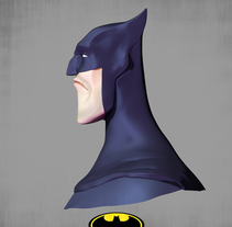 BATMAN ZBRUSH. A 3D, and Character Design project by Adrián Andújar         - 04.06.2015