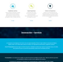 IT connections | website. Un proyecto de Desarrollo Web, Diseño gráfico y Diseño Web de Natalia  Duarte - Martes, 09 de junio de 2015 00:00:00 +0200