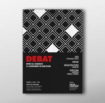 Debat Eleccions Municipals. Barcelona, 2015. Un proyecto de Diseño editorial y Diseño gráfico de Bruno Mayol         - 31.03.2015