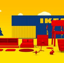 Ikea - TV Commercial. Un proyecto de 3D y Animación de Edgar  Ferrer - Viernes, 01 de marzo de 2013 00:00:00 +0100