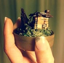 Miniatura. A Crafts project by Georgina Yuste Galan         - 22.12.2014