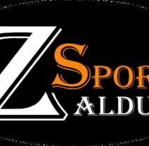 Zaldun Sports. A Web Design, and Web Development project by Adolfo Hernán Martínez - 09-02-2015