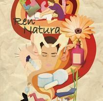 Ilustración centro de terapias naturales. Um projeto de Ilustração de Fco Javier Bernabé Campos         - 23.06.2015