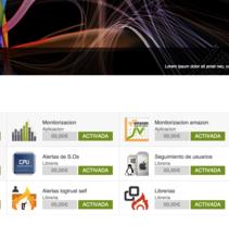 Diseñadora - Maquetadora Web en logtrust. Um projeto de Web design de Esther Martínez Recuero         - 02.06.2012
