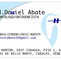Diseño de papelería  Dr. Daniel abate. Um projeto de Design gráfico de Lismary trujillo         - 24.03.2015
