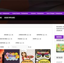 CasiJuegos. A Graphic Design, Web Design, and Web Development project by Laura Solanes         - 26.06.2015