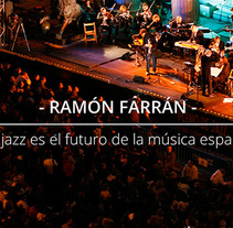 Website para Ramón Farrán. Un proyecto de Diseño y Diseño Web de Ahinoa Erlanz Parada         - 02.07.2015