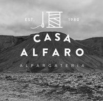 Casa Alfaro. A Design, Br, ing, Identit, Fashion, Graphic Design, Packaging, and Shoe Design project by María Sanz Ricarte         - 14.09.2014