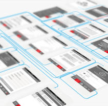 Wireframe App MD. A Design, Software Development, UI / UX, Graphic Design, and Web Development project by Belén del Olmo Gil         - 13.07.2015