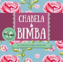 Chabela y Bimba Spanish Cook Chabela y Bimba Spanish kitchen. Um projeto de Design, Br, ing e Identidade e Design gráfico de Natalia Beato Pérez         - 20.07.2015