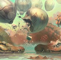 2015 Art. Um projeto de Ilustração e Artes plásticas de Carlos Garijo         - 24.07.2015