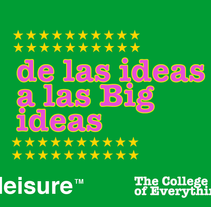 Big ideas . Un proyecto de Marketing de Pablo Alonso Fernández         - 24.06.2015