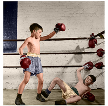 Police Athletic League Boxing 1946 (Stanley Kubrick). A Photograph, and Graphic Design project by Bruno Mayol - 31-05-2013