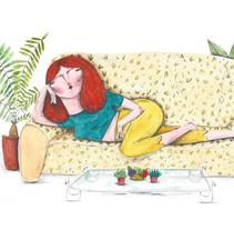 TROPICAL: I would be so. Um projeto de Ilustração de Eva zurita gallego         - 10.08.2015