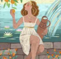 Abundancia. Un proyecto de Ilustración de Maribel Lobelle         - 10.07.2015