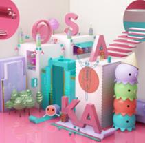 Osaka. Un proyecto de Publicidad, 3D, Dirección de arte y Diseño de personajes de designer_at_deep         - 16.08.2015