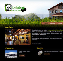 behitegi.com. A Web Design, Web Development, Design&Interactive Design project by Eloy Ortega Gatón - Aug 22 2015 12:00 AM