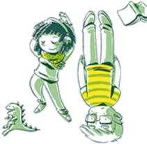 Nadine y Daniel. Un proyecto de Comic de Diego Burdío         - 13.04.2012
