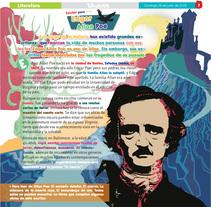 Sección literatura del suplemento infantil Tecolotito. A Design, Illustration, and Editorial Design project by Aída Moya         - 27.06.2015