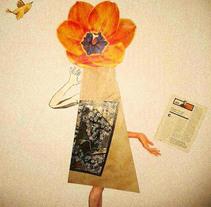 Decir con collages. A Collage project by Sofía Acevedo         - 07.09.2015