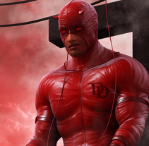 Daredevil. 3d. A 3D, Animation, Character Design, Game Design, To, Design, and Comic project by MARC MONS - 12-09-2015