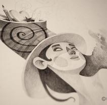 Mi espacio sideral 2. A Illustration project by Montse Casas Surós - Sep 17 2015 12:00 AM