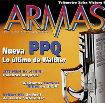 Armas (revista). A Editorial Design project by Sonia Rodríguez Barrera         - 31.07.2006
