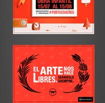 Microteatro lima segunda temporada fanpage. A Graphic Design project by Ángela Nair Báez Mosqueira - 21-09-2015