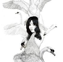 Ilustración para Björk  . A Illustration, and Graphic Design project by Javier Navarro Romero         - 22.09.2015