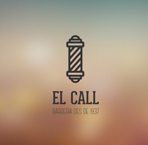 El Call . A Br, ing, Identit, Design, Graphic Design, and Packaging project by Elisabet FC - 09.23.2015