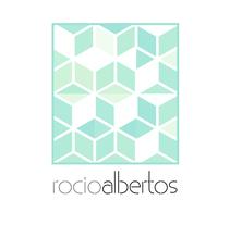 Mi Proyecto del curso Motion graphics y diseño generativo - Logotipo Rocío Albertos. Un proyecto de Diseño, Animación, Br e ing e Identidad de Rocío Albertos Casas - 12-11-2015