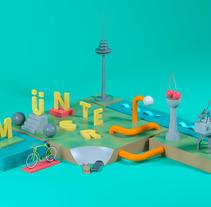 Mi Proyecto del curso Dirección de Arte con Cinema 4D. A 3D project by Manuel Lozano - 27-09-2015