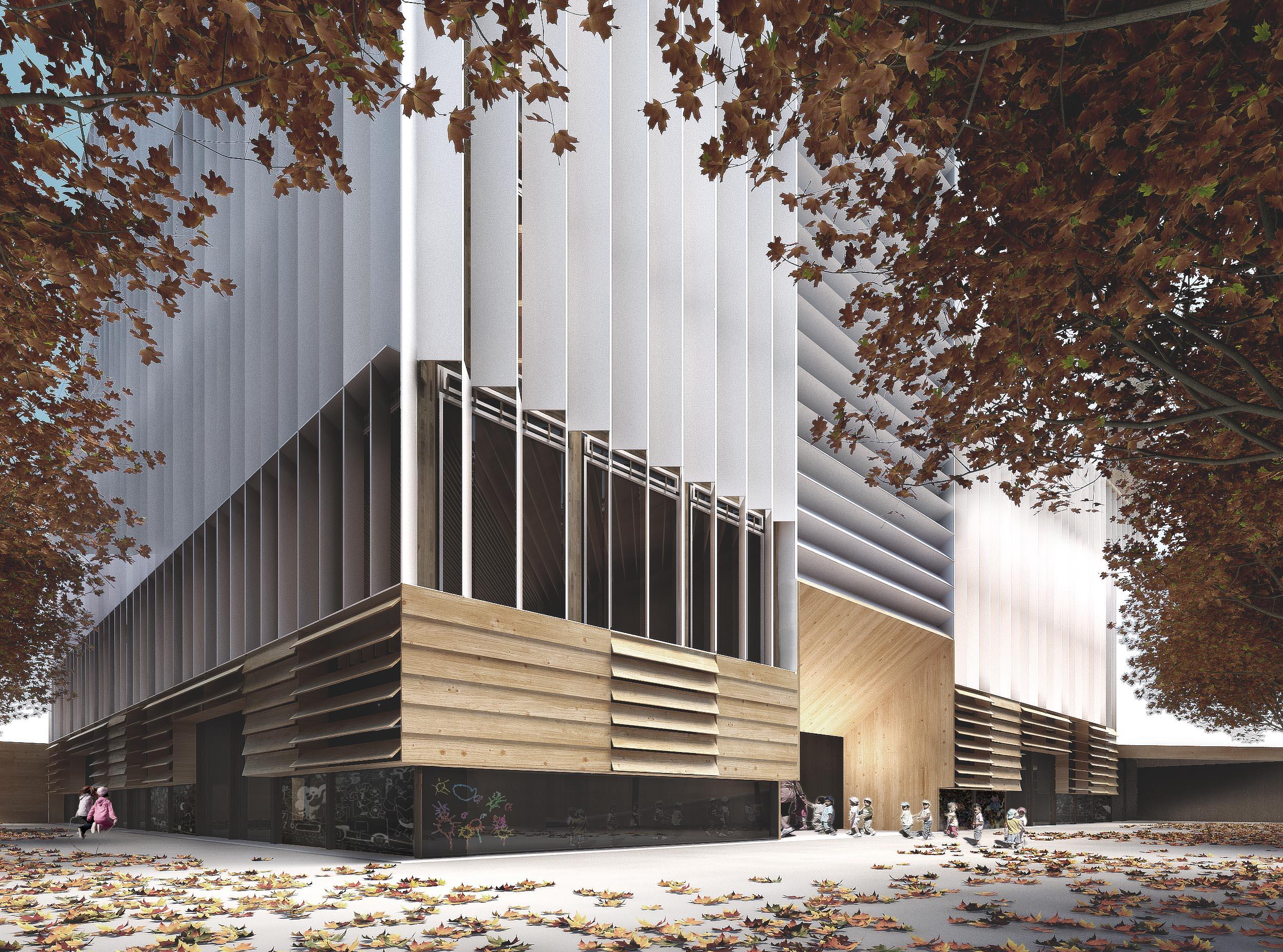 Biblioteca y guarder a en barcelona colaboraci n con suma for Biblioteca arquitectura