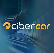 Cibercar. Portal de Motor. Diseño de logo e imagen gráfica.. Un proyecto de Dirección de arte de Enrique Peláez Martín - 01-10-2015