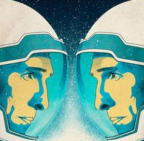Interstellar Film Poster. A Design&Illustration project by Oscar Giménez - 10.05.2015