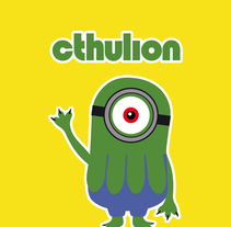 Cthulion. A Character Design project by Maricel Díez Regidor         - 31.07.2015