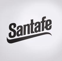 Santafe restyling. Um projeto de Design, Br, ing e Identidade e Tipografia de Ms. Barrons         - 07.10.2015