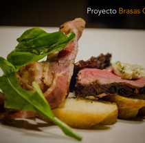 Brasas Gourmet. A Design project by brunosalvatorefata         - 11.10.2015