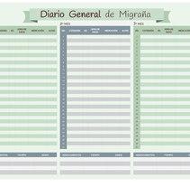 Diario General de Migraña. Un proyecto de Diseño gráfico de M.A. Serralvo - Viernes, 20 de diciembre de 2013 00:00:00 +0100