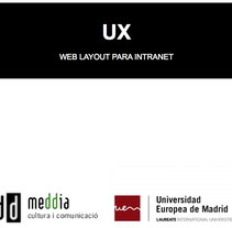 Diseño UX para intranet. A UI / UX&Information Architecture project by Alba Monedero Uribe-echebarría         - 14.10.2015