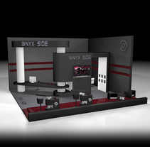 ONIX SIDE - Diseño Stand 3D. A Design, Advertising, 3D, Animation, Interior Architecture, Marketing, Post-Production, and Video project by Alfonso García         - 14.10.2015