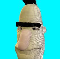 Blas Punk. Un proyecto de 3D, Diseño de personajes y Comic de Toni Ortin         - 16.10.2015