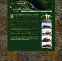 WEB Jowett Javelin. Um projeto de Web design de Moisés Escolà Martínez         - 17.10.2005