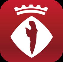 Alcover App. App oficial del Ayuntamiento de Alcover, Tarragona. Un proyecto de UI / UX, Gestión del diseño y Diseño gráfico de Míriam Broceño Mas - 18-10-2015